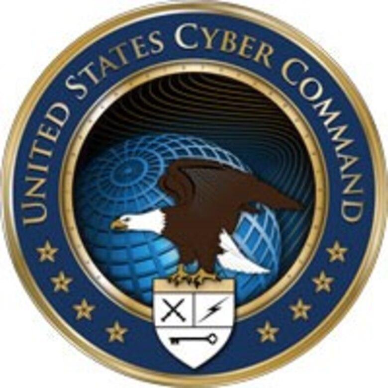 U.S. Cyber Command emblem.