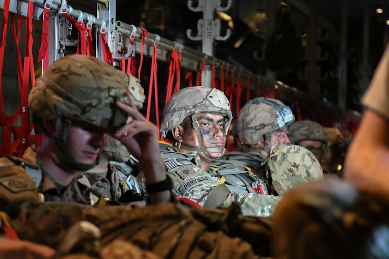317th AW facilitates 82nd Airborne Battalion Mass Tac