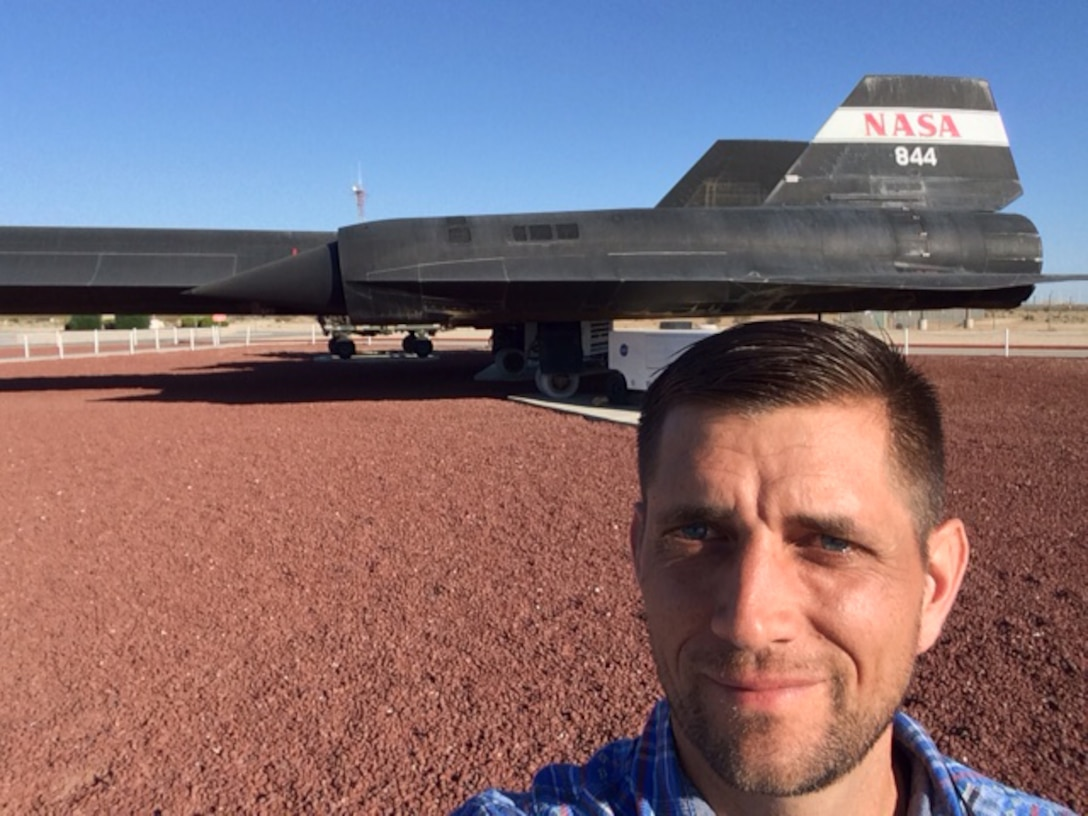 Navy Lt. Todd Coursey's summer will be spent at NASA's Armstrong Flight Research Center in Edwards, Calif., where he is participating in a rare directed-study internship with the space organization. Navy photo by Lt. Todd Coursey