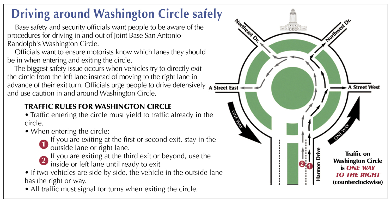 Defensive Driving San Antonio >> Patience And Defensive Driving Key To Utilizing Washington Circle