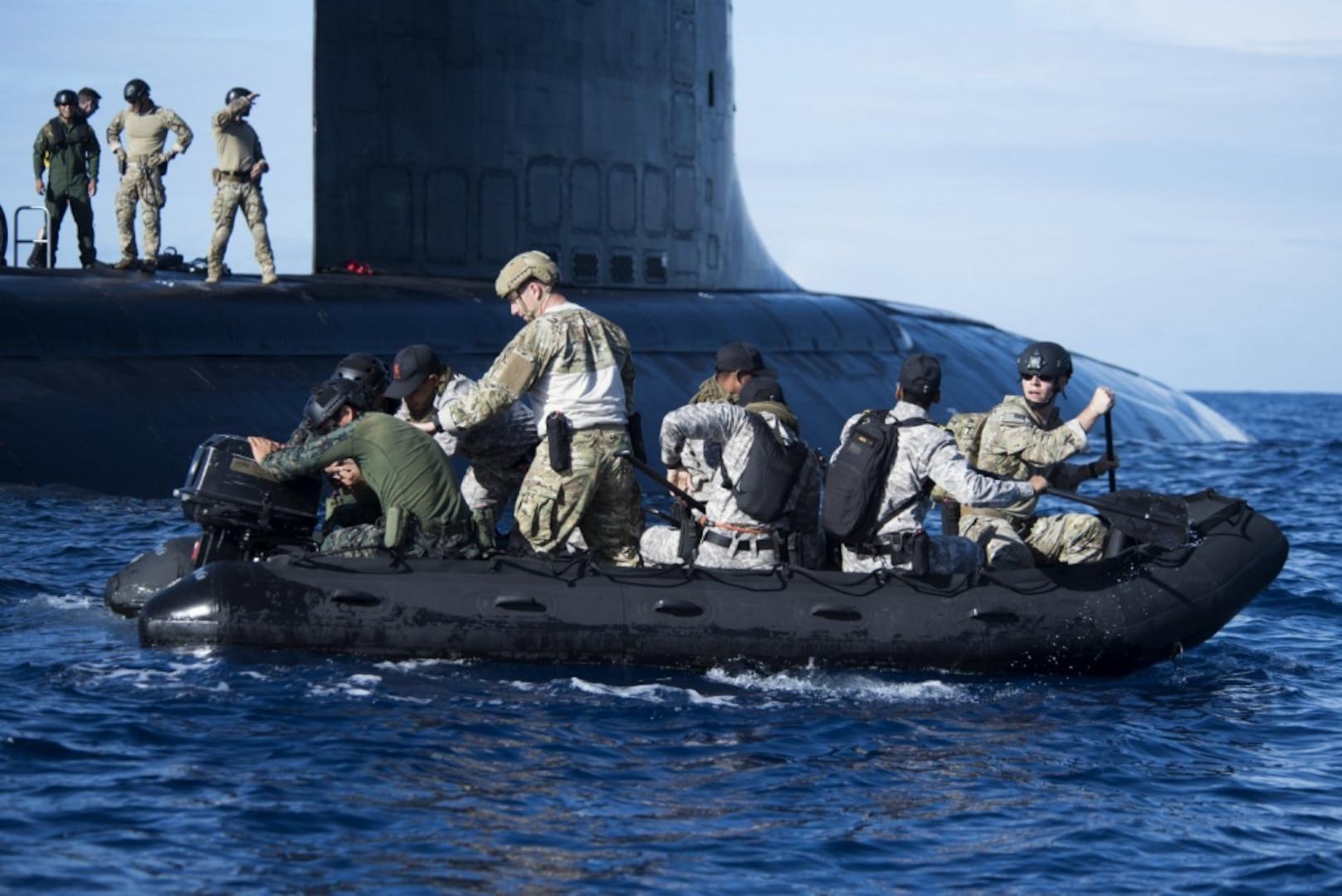 On Scene, Unseen: RIMPAC Submarines Showcase Capability in Undersea Domain