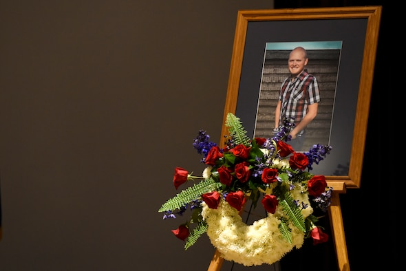 Memorial service held for fallen 4th CES Airman