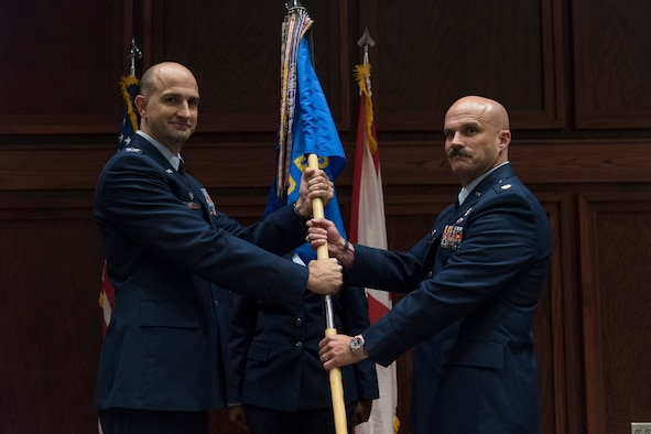 Stimpson Assumes Command of 100FS