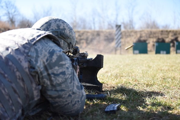 180FW security forces train at Battle Creek