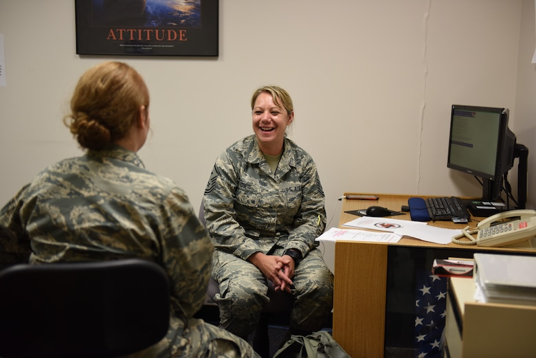 180FW recognizes outstanding first sergeant