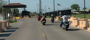 914th ARW Chaplain performs motorcycle blessing