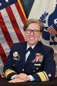 Photo of Rear Admiral Joanna Nunan
