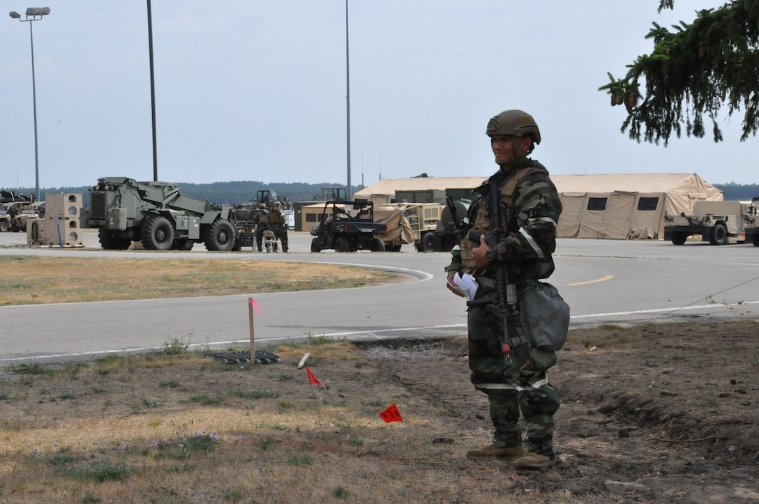 The 123rd Contingency Response Group and 690th Rapid Port Opening Element put a plan of Turbo Distribution into action during a two week exercise.