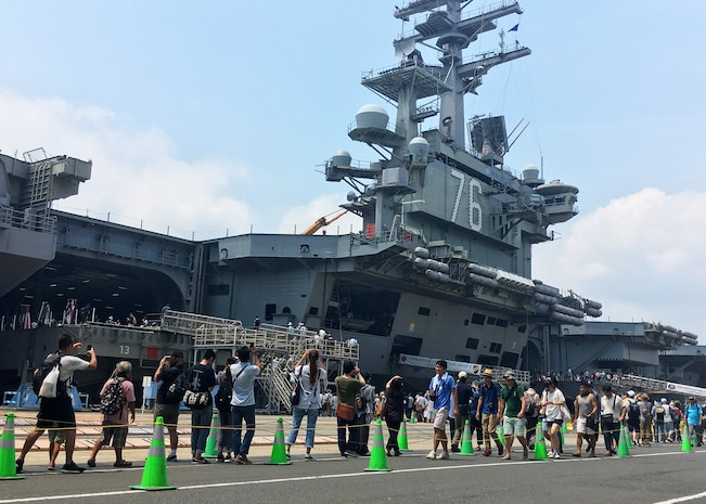 More than 38,000 Guests Visit Fleet Activities Yokosuka for Friendship Day