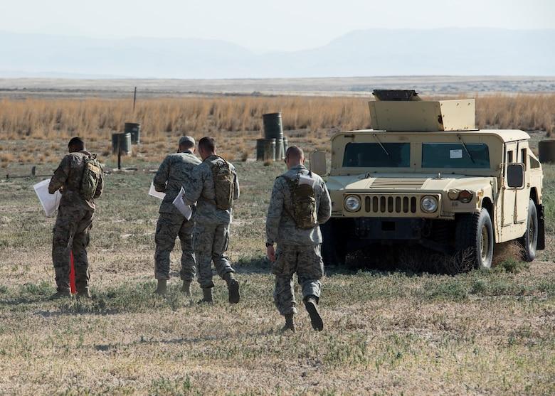 The Defender Challenge tests Security Forces Airmen on vital combat skills.