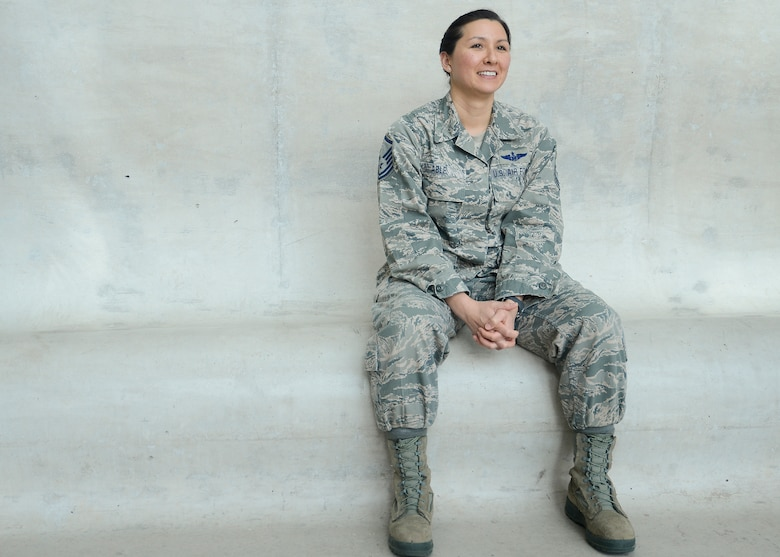 Air National Guard's Outstanding Senior NCO of the Year: Master Sgt. Ashley U.P. Able