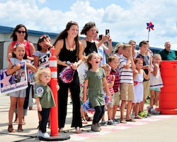 122nd Blacksnakes Return Home