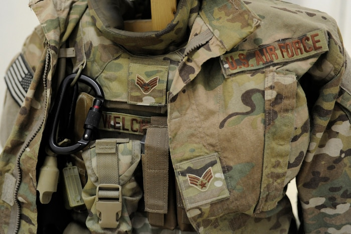 "The Operation Enduring Freedom Camouflage Pattern, or OCP, uniform, also known as the ""multi-cam,"" is the Air Force-designated uniform for Airmen performing ""outside the wire"" missions in Afghanistan."