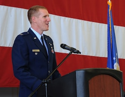 142nd Fighter Wing Change of Command