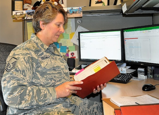 Master Sgt. Amy Whitman-Rector