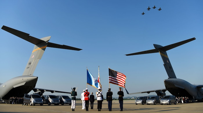 Once lost, now found: DPRK returns remains of 55 MIA service members