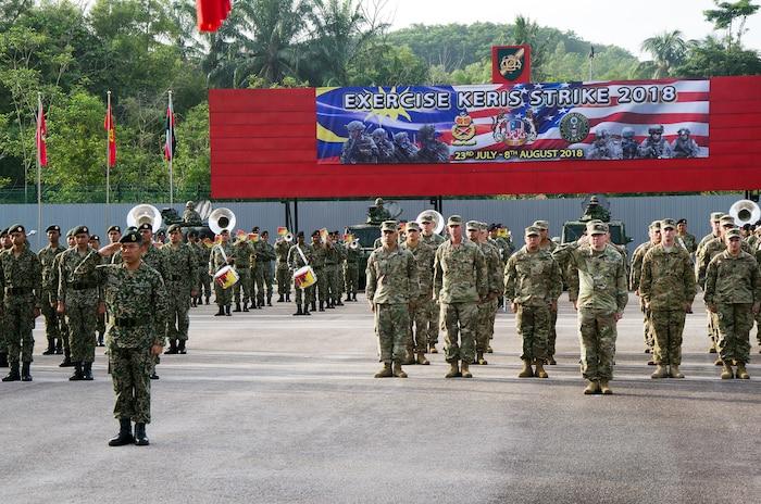 Exercise Keris Strike 2018 ends at Camp Senawang