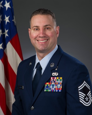 Senior Master Sgt. Erik Robbins, U.S. Air Force, official photo