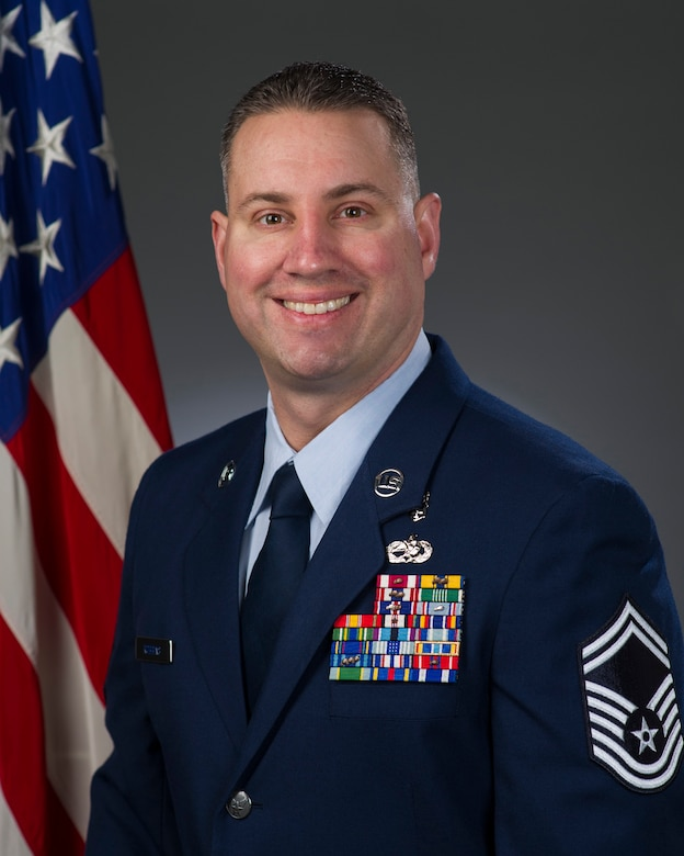 Senior Master Sgt. Erik Robbins, U.S. Air Force, official photo