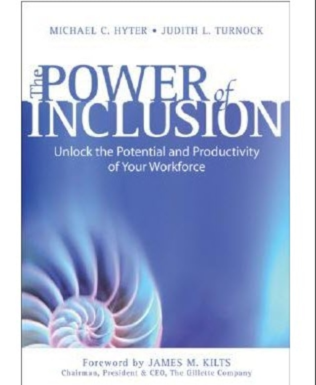 """Book cover, """"The Power of Inclusion"""""""