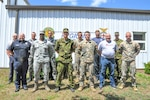 From July 23 to Aug. 3, 2018, firefighters from Latvia, Bulgaria and Estonia attended an Incident Command course at Alpena (Michigan) Combat Readiness Training Center, gaining familiarity with tactics and techniques applicable during the initial decision-making phase of an emergency response situation.