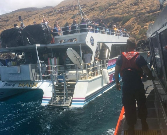 Coast Guard, partners rescue surfer in distress off Maui