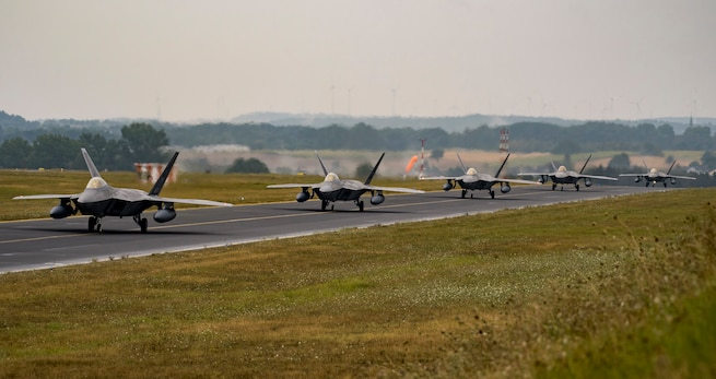 Raptors touch down at Spangdahlem