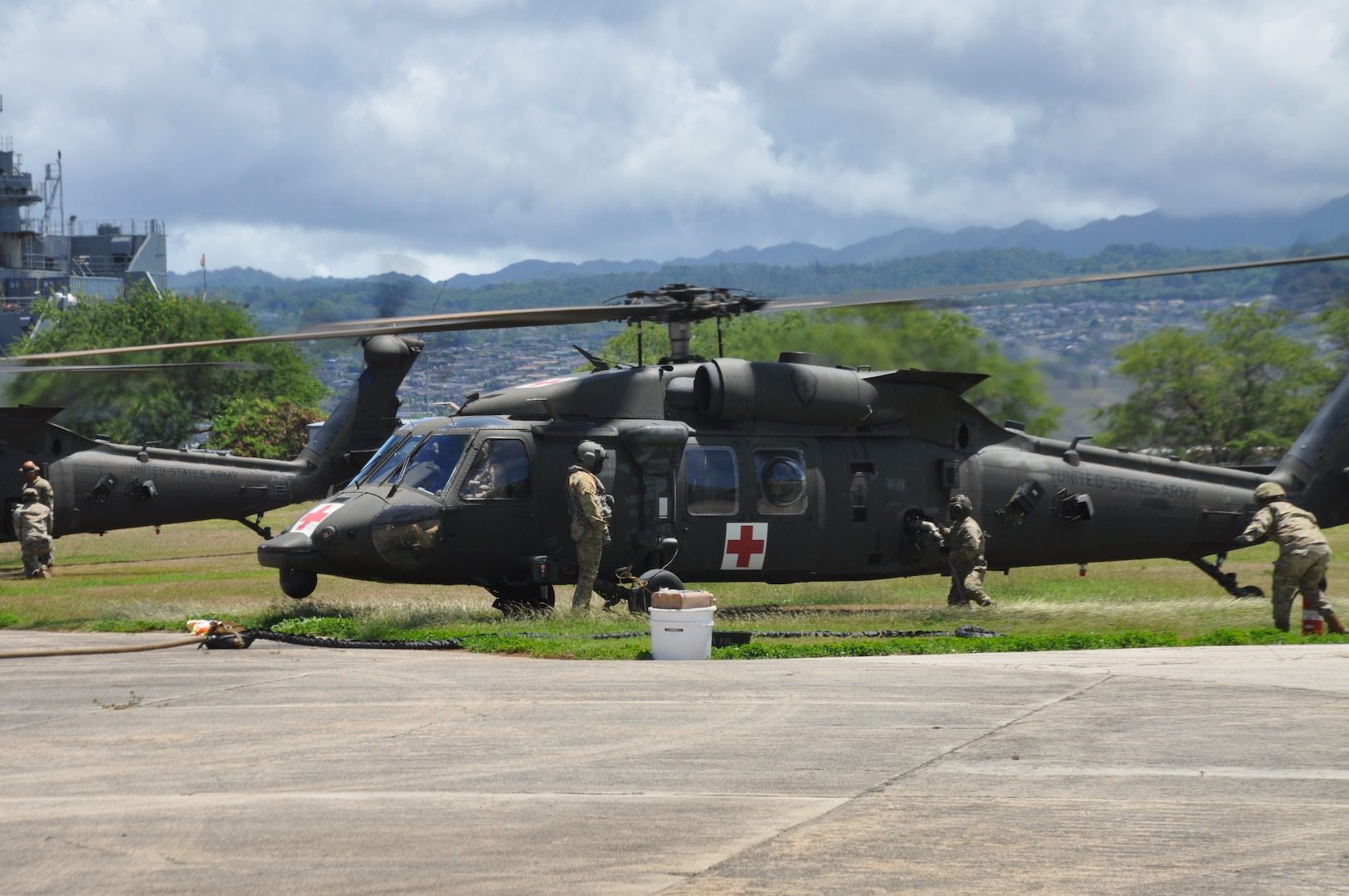 RIMPAC 2018 Helicopter Refueling