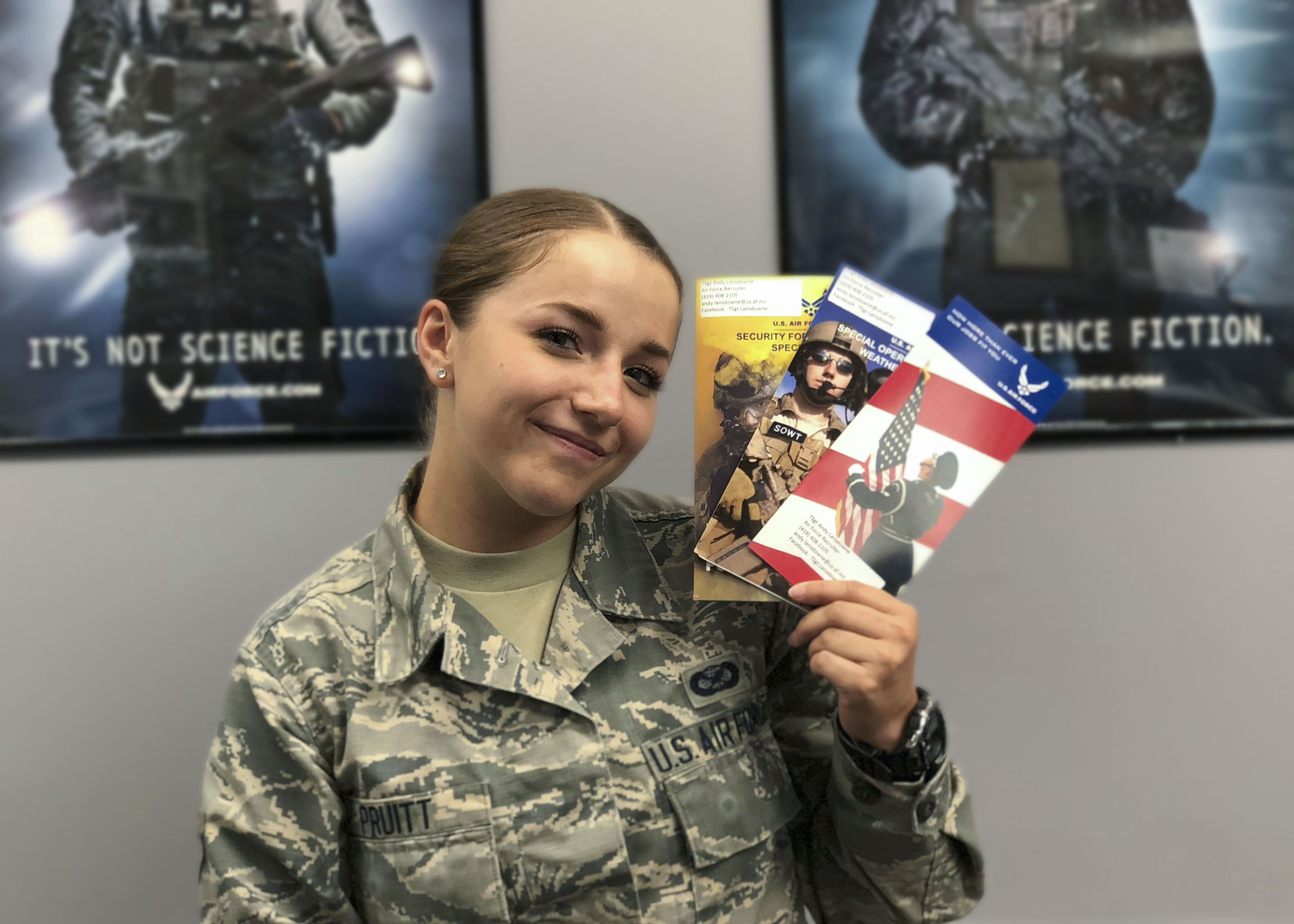 air force recruiter not responding