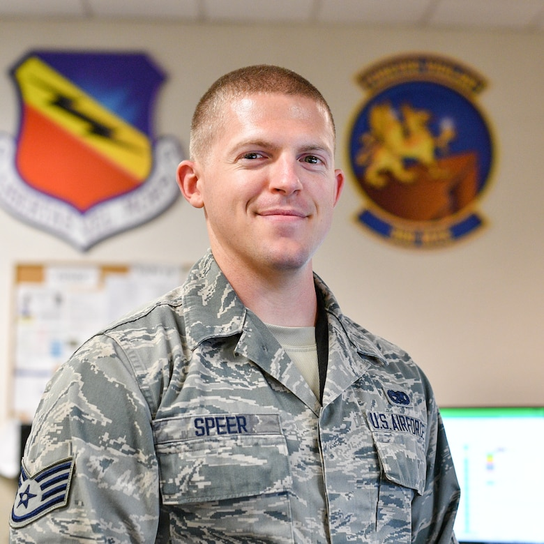 "Staff Sgt. Benjamin Speer was recently recognized as a ""Superior Performer"" by the Hill AFB Top 3. 