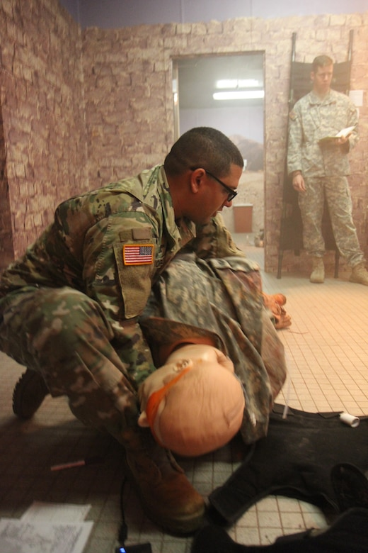 U.S. Army Reserve medics train with realism