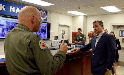 Sen. Ted Cruz visits Dyess