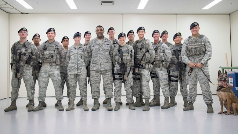 374AW commander tours Yokota Air Base