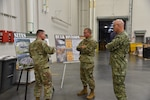 Troop Support commander meets with Distribution leadership