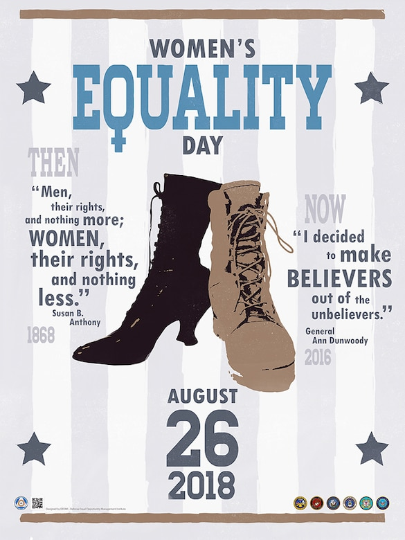 Department of Defense 2018 Women's Equality Day