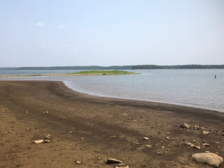 The U.S. Army Corps of Engineers at Perry Lake urge recreation visitors to be cautions of lower than usual lake levels. Shallow points and normally submerged hazards are becoming a common sight. It's important for all visitors to understand the lake and risks associated with recreating in low water.