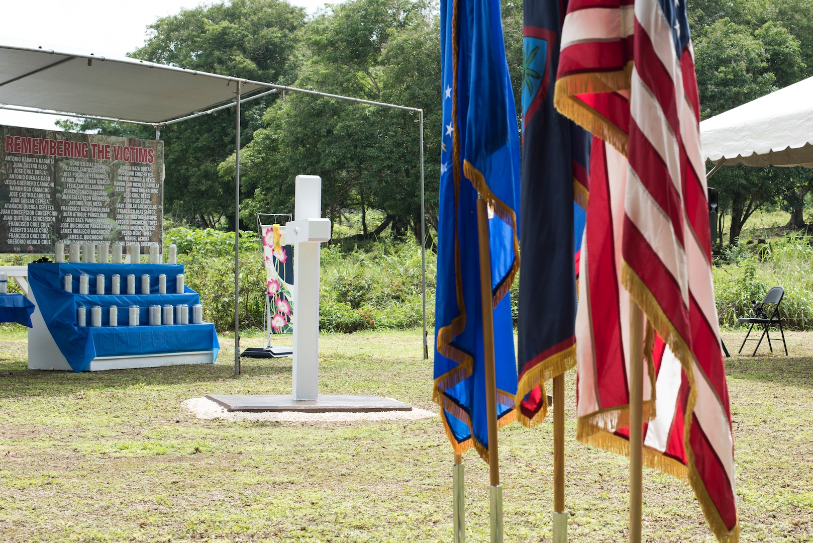 No longer forgotten: U.S. service members, Japanese dignitaries, Chamorros observe Chaguian Massacre Memorial in Yigo