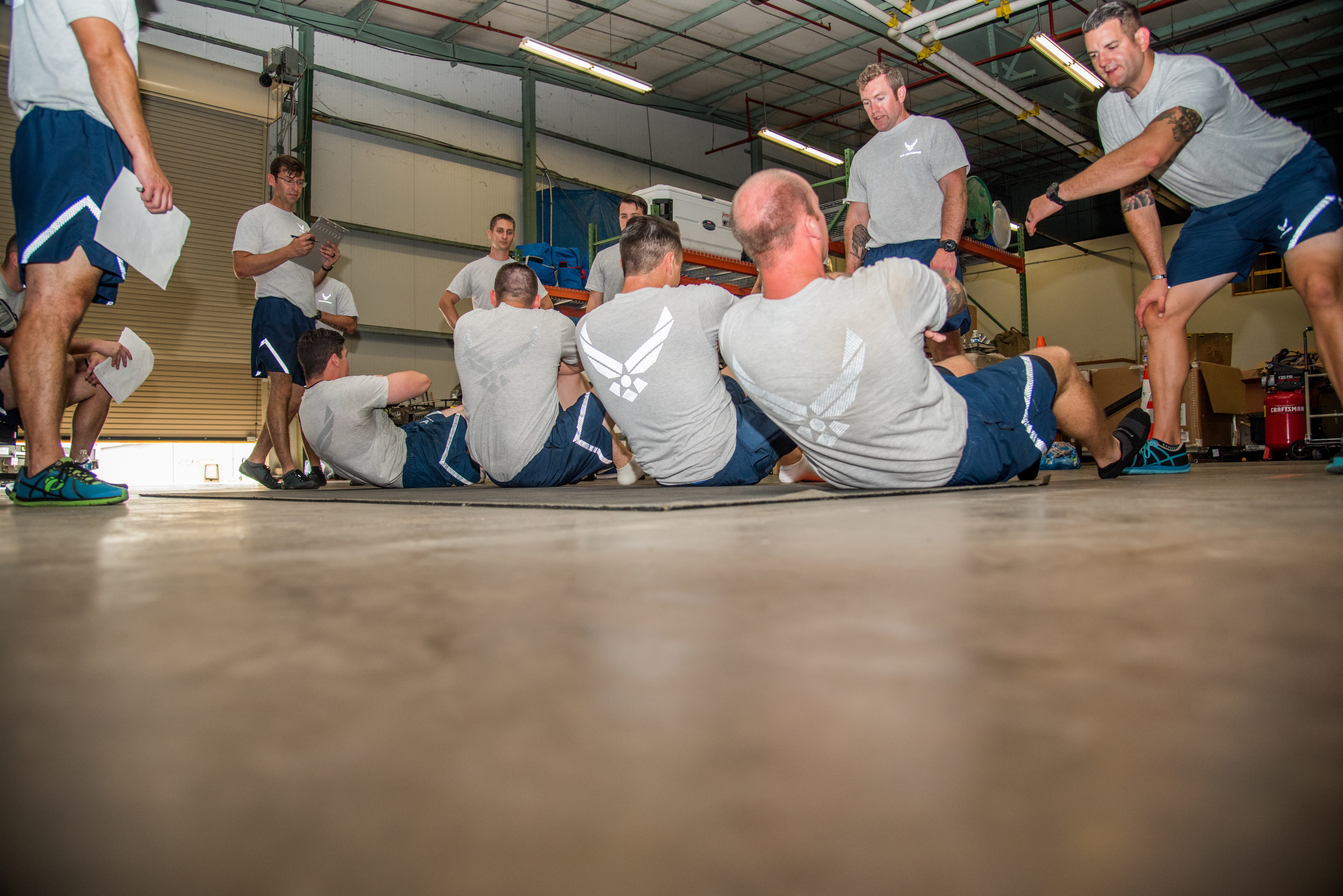 Air Force administers new fitness prototype at Dover AFB