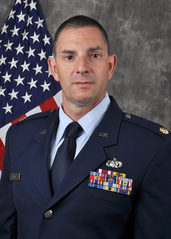 Maj. Jason Vance is the 445th Logistics Readiness Squadron Commander.