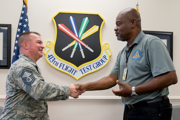 Senior Master Sgt. Richard Neal helps shape and mentor Reserve Citizen Airmen