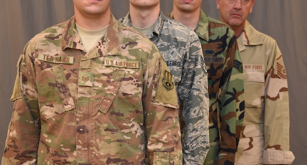 Blending in, Air Force to begin wear of OCP uniform
