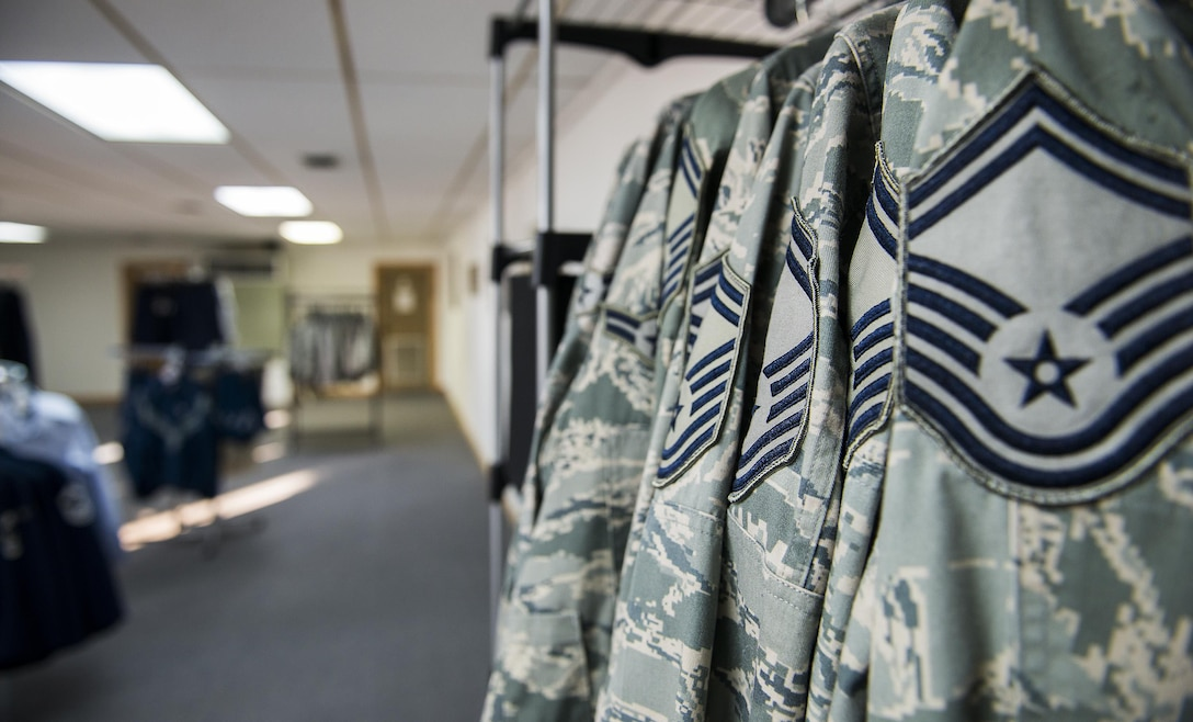 Two dozen of the 919th Special Operations Wing's finest sewed on new stripes in August. (U.S. Air Force photo/Tech. Sgt. Sam King)
