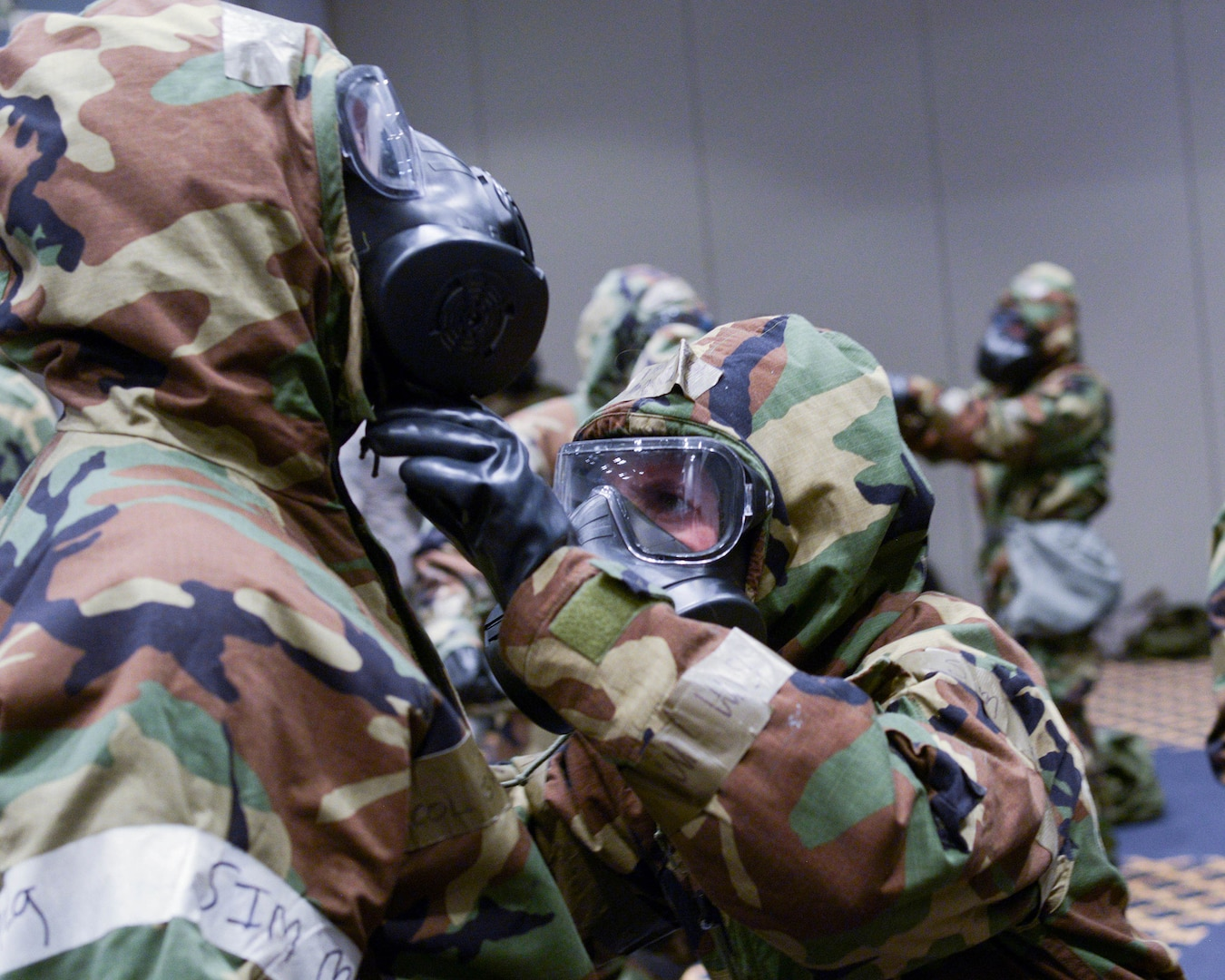 374th MDG Hosts Joint Bilateral CBRN Training