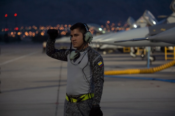 Colombian Air Force participate in Red Flag 18-3