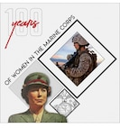 U.S. Marine Corps graphic illustration, depicts a century of solidarity: Celebrating 100 years of women serving in the Marine Corps since Opha May Johnson, the first of more than 300 women who enlisted into the Marine Corps on Aug. 13, 1918.