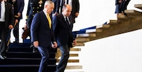 Defense Secretary James N. Mattis and Brazilian Foreign Minister Aloysio Nunes meet to reaffirm the long-standing bilateral relationship between their nations at the Itamaraty Palace in Brasilia, Brazil, Aug. 13, 2018.