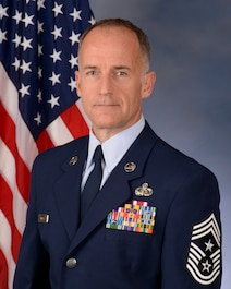 As the command chief, Chief Master Sgt. James C. McKay's mission is to advocate on behalf of the enlisted force to ensure issues with their readiness, professional development, training, and quality of life are addressed. McKay joined the Army National Guard in 1985. After serving seven years as an avionics mechanic, he transferred to the Air National Guard in 1993. Prior to his current position, McKay was a telephone systems specialist, ground radio technician, the chief of maintenance, operations branch superintendent, communications chief, and mission support group superintendent.