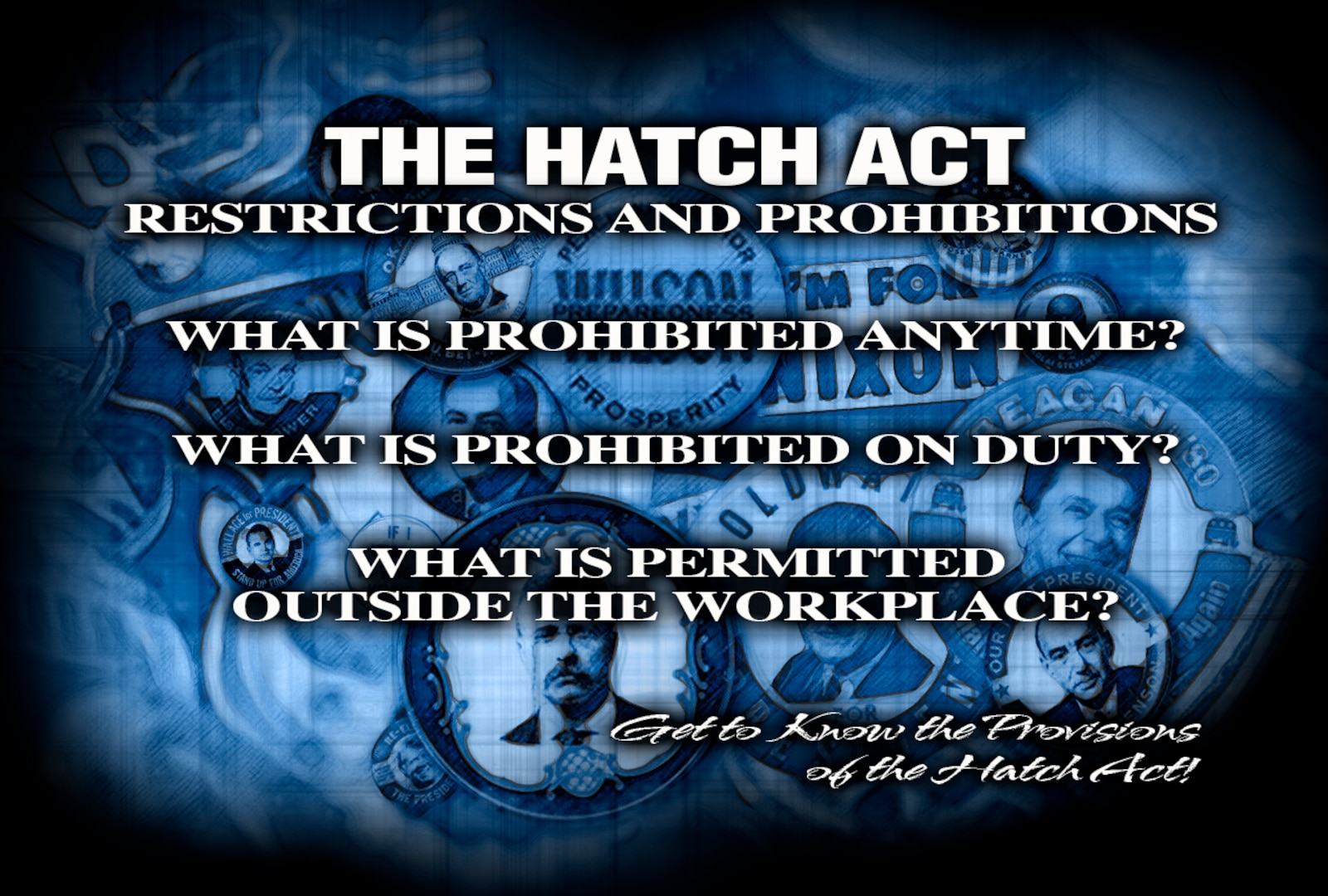 Hatch Act logo