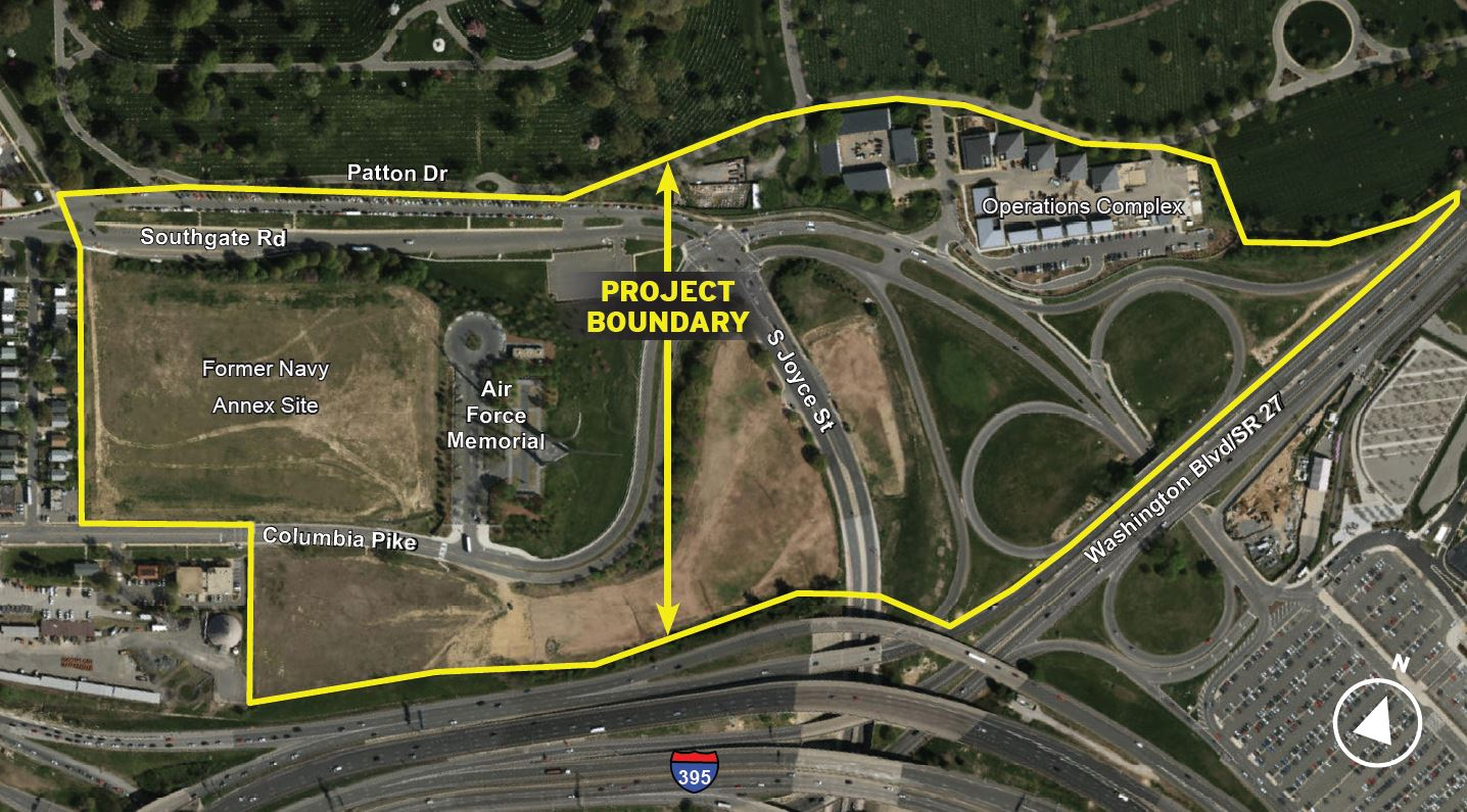 Arlington National Cemetery Southern Expansion Project and ...