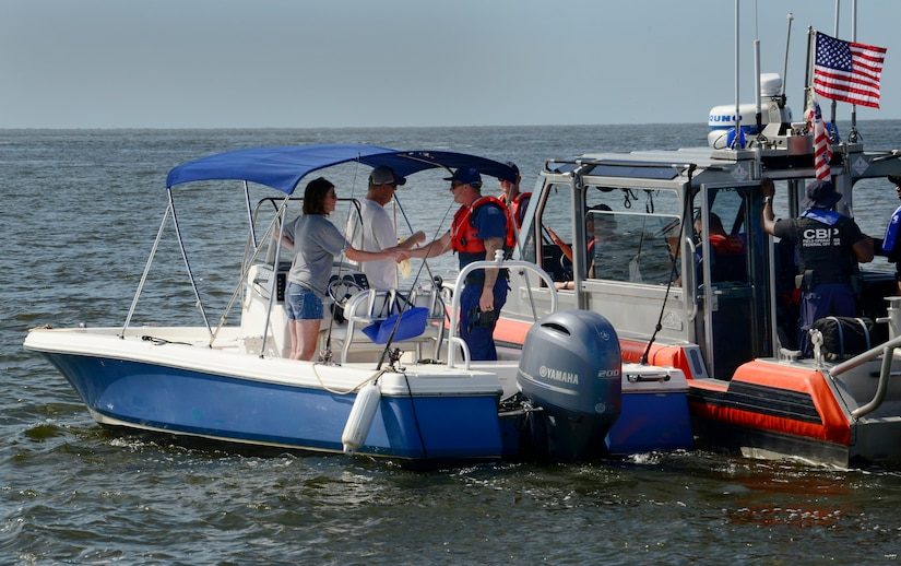 Operation SHRIMP and GRITS: boating safety, maritime security